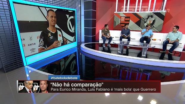 Fred, Guerrero, Ricardo Oliveira, Luis Fabiano... Bate Bola analisa e compara atacantes