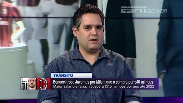 Mauro elogia contratação de Bonucci e Bertozzi aponta diferenças do zagueiro com técnico da Juventus