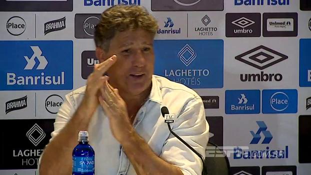 'A minha resposta é melhor que a tua pergunta': Renato Gaúcho arranca risadas e sai aplaudido de coletiva