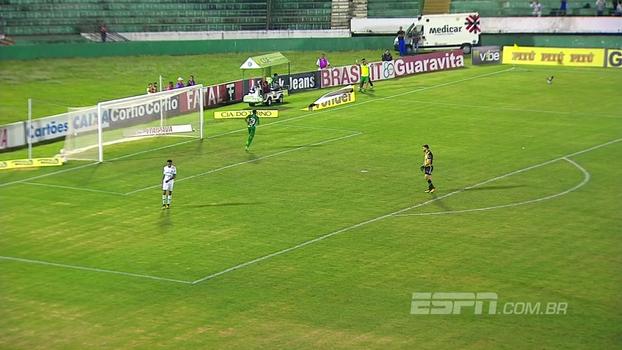 Confira os gols de Guarani 2 x 0 Juventude