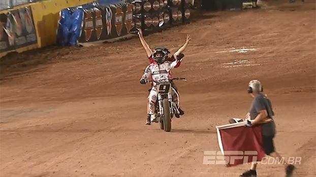 Em prova marcada por tombo na primeira volta, Jared Mees fica com ouro no Flat-Track do X Games