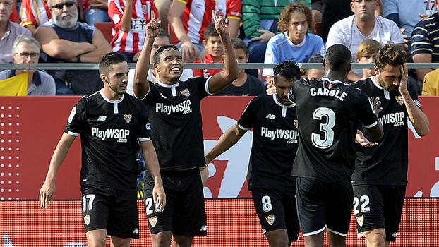 Muriel marca, e Sevilla derrota Girona fora de casa pela LaLiga