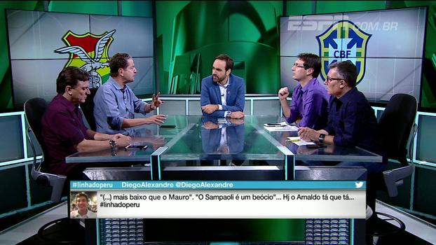 Para Juca, seleção brasileira jogou de maneira muito inteligente na altitude: 'Teve controle o tempo inteiro'