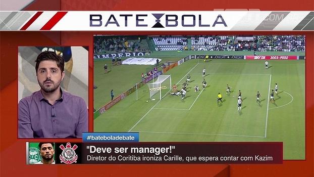 Diretor do Coritiba ironiza ida de Kazim ao Corinthians; Nicola: 'Coxa não foi consultado'