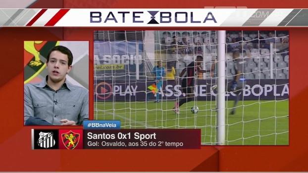 Rafael Oliveira explica motivo do Santos não estar agradando tanto no Brasileiro
