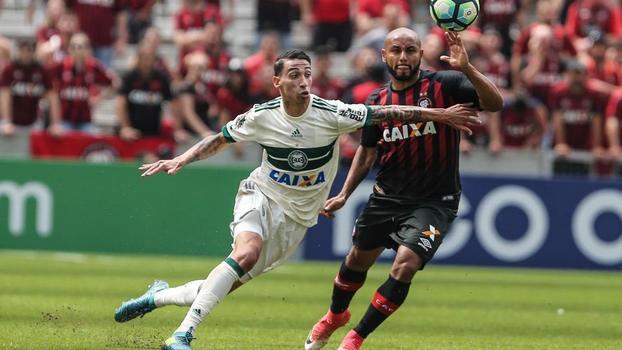 Brasileiro: Gols de Atlético-PR 1 x 1 Coritiba