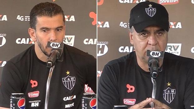 Donizete lamenta lesão de Léo Silva; M. Oliveira explica escolha de novo capitão