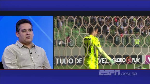 'Foram, talvez, os melhores 45 minutos do Atlético-MG em casa no Brasileiro', analisa Bertozzi