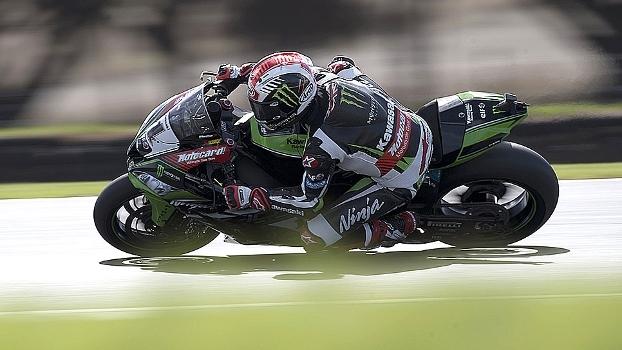 Atual bicampeão mundial, Jonathan Rea vence 1ª bateria do Mundial de Superbikes na Austrália