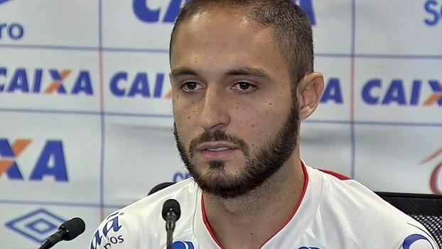 Artilheiro da Copa do Nordeste, Régis promete ajudar o Bahia contra o ex-time Sport