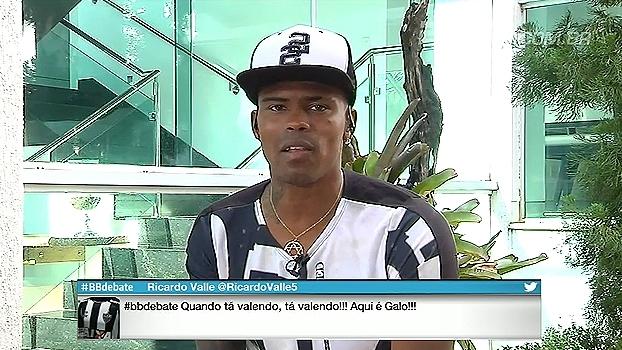 Maicosuel enaltece torcida do Atlético-MG: 'É diferente de tudo; é uma coisa absurda'