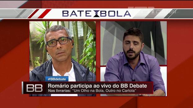 'Passa pela minha cabeça ter a honra de dirigir a CBF', revela Romário