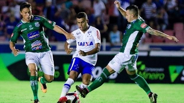 Veja os gols do empate entre Uberlândia e Cruzeiro por 2 a 2 pelo Mineiro