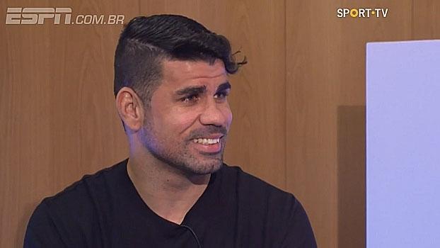 Diego Costa diz que Pepe e Sérgio Ramos foram os jogadores mais difíceis de enfrentar