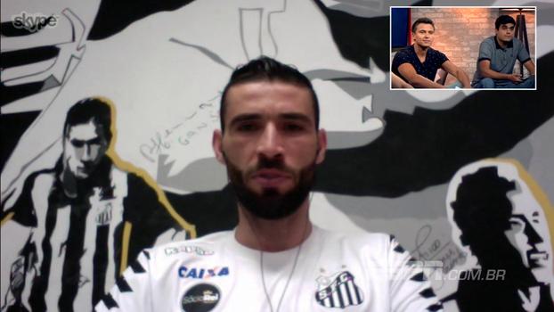 Vanderlei se diz feliz por recuperação de Cássio, mas 'se escala' no Cartola: 'Sou mais bonito'