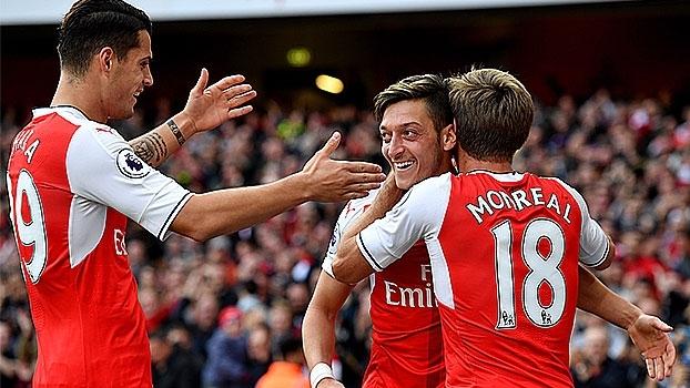 Premier League: Melhores momentos de Arsenal 3 x 2 Swansea