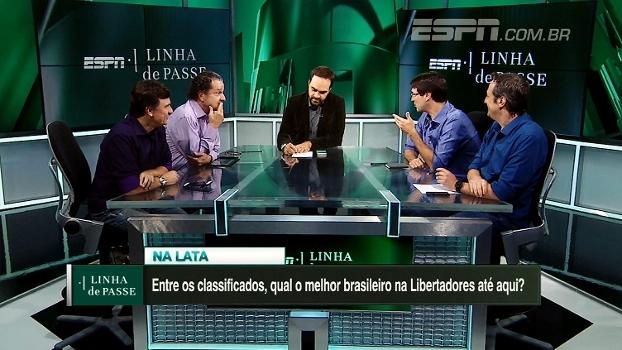 Na lata: entre os classificados, qual o melhor brasileiro na Libertadores até aqui?
