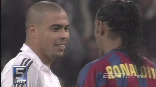 Goleadas, palmas no Bernabéu para Ronaldinho e muita rivalidade; veja os 10 melhores 'El Clasicos' da história