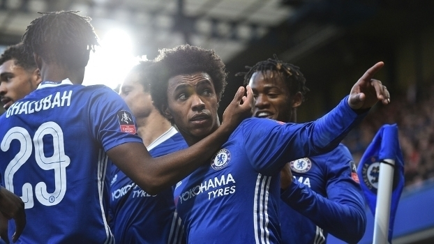 Copa da Inglaterra: Gols de Chelsea 4 x 0 Brentford