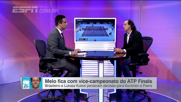 Meligeni avalia temporada de Marcelo Melo e critica ausência de brasileiros no ranking top 100: 'Não tem renovação'