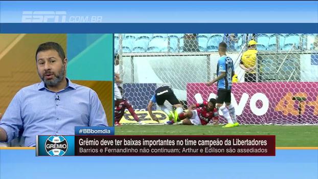 Marra elogia trabalho de Romildo Bolzan no Grêmio: 'Foi o melhor presidente dos clubes brasileiros'
