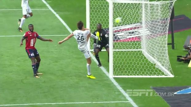 Veja os gols de Lille 0 x 2 Caen