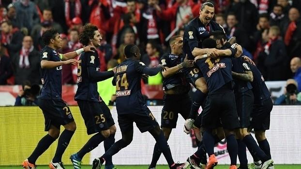 Copa da Liga Francesa - final: Gols de Paris Saint-Germain 2 x 1 Lille