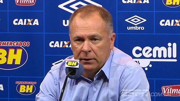 Mano vê partida ruim do Cruzeiro, mas comemora resultado: 'Foi uma goleada'