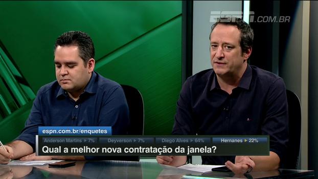 Gian analisa chegada de Hernanes, elogia dedicação do meia e aponta 'grande problema' na Juventus