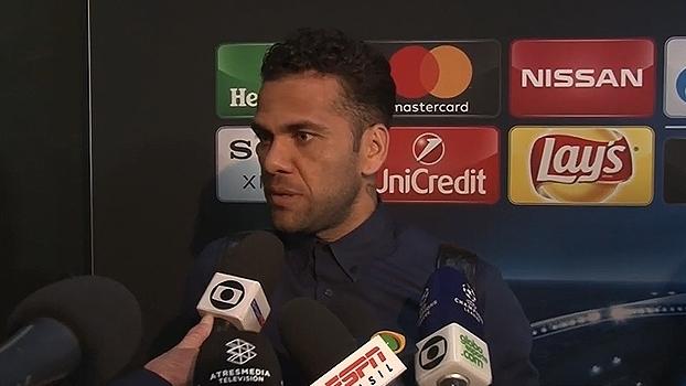Dani Alves, sobre classificação da Juve: 'Nem nos meus melhores sonhos seria assim'
