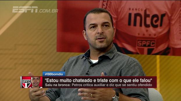 Zé Elias diz que Petros deveria vir a público e revelar fala de auxiliar