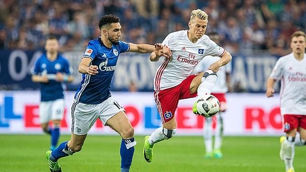 Schalke e Hamburgo ficam no empate por 1 x 1 pela Bundesliga
