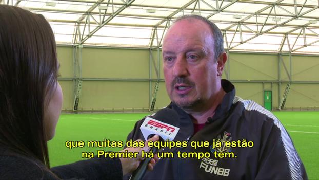 Hoje no Newcastle, Benítez sente falta das competições continentais, elege técnicos preferidos e exalta o futebol brasileiro