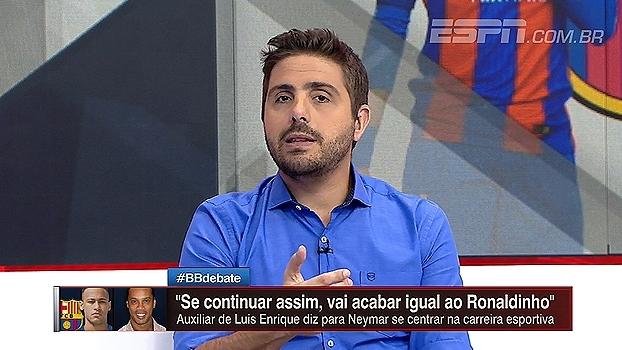 Nicola analisa declaração de assistente do Barça sobre Neymar: 'Não dá para ignorar isso'
