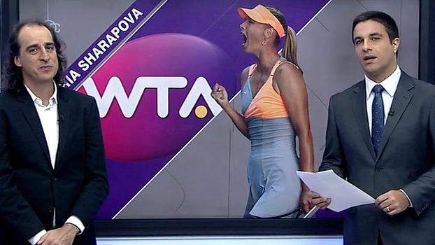 Meligeni diz que Sharapova voltou ao tênis mais magra e analisa queda em Stuttgart