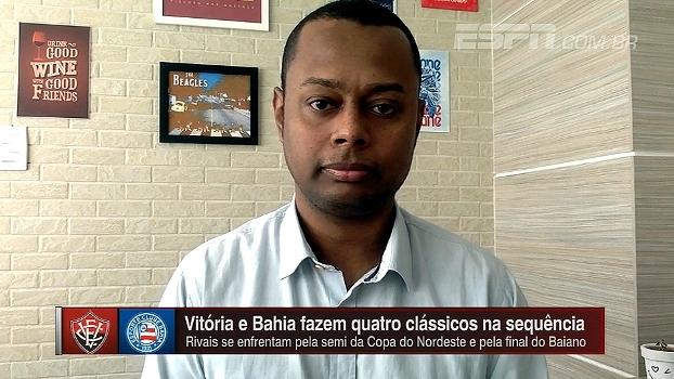 Elton Serra analisa jogos em sequência de Bahia e Vitória: 'Não há favorito'