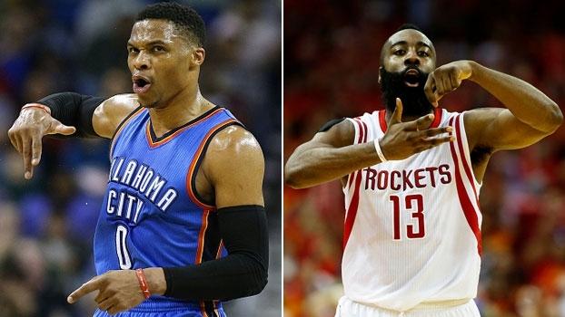 Westbrook x Harden, quem é melhor? Análise no 'NBA Countdown Brasil'