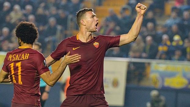Europa League: Melhores momentos de Villarreal 0 x 4 Roma