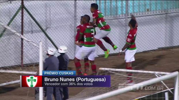Gol chorado da Portuguesa leva o Prêmio Cuskas do 'Futebol no Mundo'