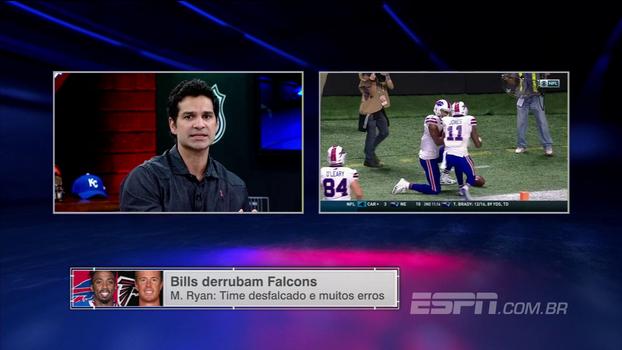 Comentaristas elogiam começo de temporada dos Bills; Paulo Antunes: 'defesa está bem demais'