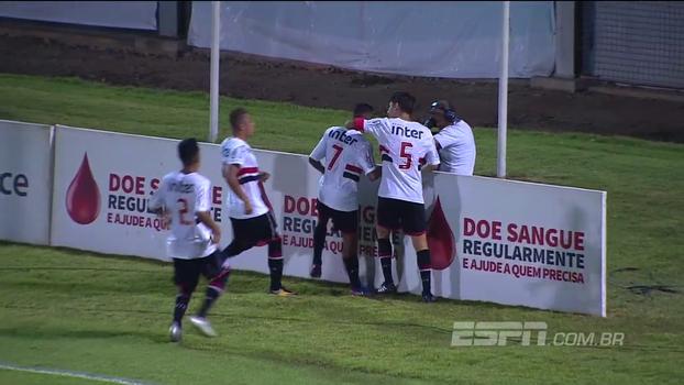Brasileirão sub-20: Em jogo com final alucinante, São Paulo elimina Flu e decide 1º lugar contra o Cruzeiro