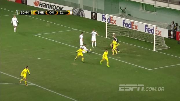 Sensação da Europa League, Sheriff Tiraspol vence com gol brasileiro e segue na liderança do grupo