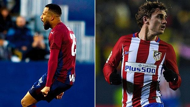 Eibar e Atlético de Madrid se enfrentam neste sábado, às 13h10, na ESPN Brasil e WatchESPN