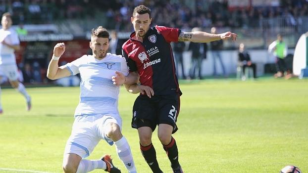 Lazio empata em 0 a 0 com Cagliari e se afasta da Champions League
