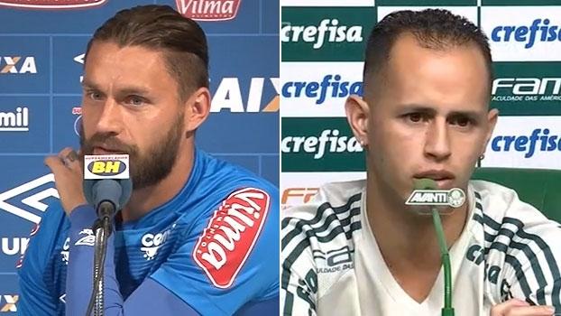 Sóbis minimiza possível 'lei do ex' de William contra o Cruzeiro; Guerra faz análise do adversário
