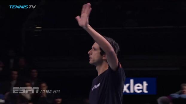 ATP Finals: Lances de Harrison/Venus 0 x 2 Kubot/Melo
