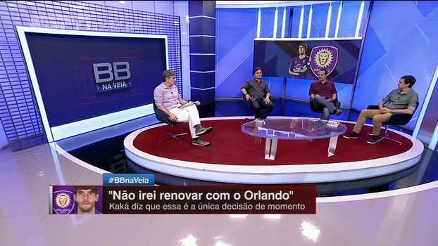 Gian e Tironi comentam não renovação de Kaká com o Orlando e futuro do meio-campista