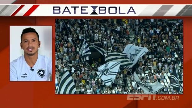 Lindoso celebra Libertadores e prevê fim de 'altos e baixos' do Botafogo: 'Tudo para crescer e brigar por títulos'