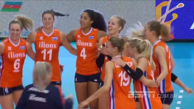 Holanda vence Croácia pelo Europeu de Vôlei e se classifica para as quartas de final