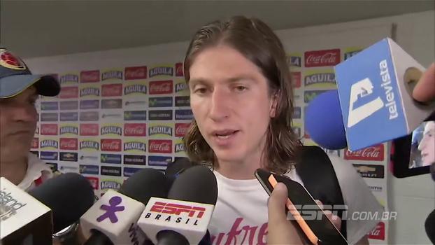 Filipe Luis diz que resultado foi justo e diz que ainda não é hora de pensar na Copa; veja
